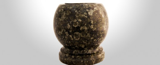 Granite Bowl Vases