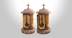 Orion Granite Tombstone Lantern