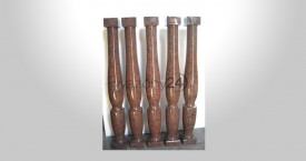 Balmoral Red Granite Balusters