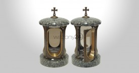 Elita Granite Tombstone Lantern
