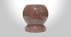 Balmoral Red Granite Bowl Vases