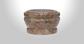 Kashmir Gold Granite Bowl