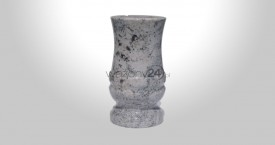 Wiscount White Granite Vase