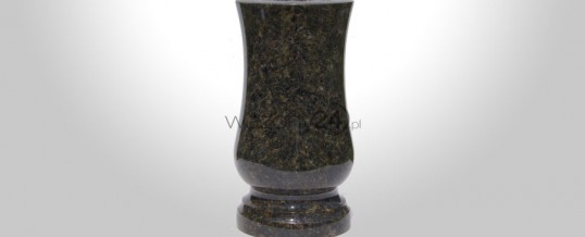 Green Sved Granite Vase