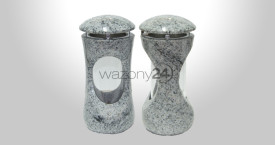 Whiscount White Granite Lantern