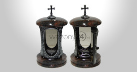 Indian Aurora Granite Tombstone Lantern