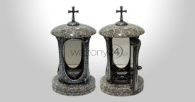 Chinese Granite Tombstone Lantern