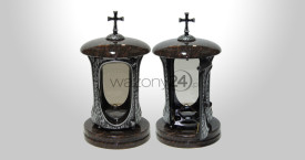 Star Ruby Granite Tombstone Lantern