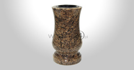Brazilian Gold Granite Vase