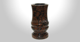 Carelia Red Granite Vase
