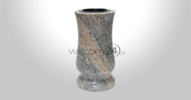Juparana Colombo Granite Vase