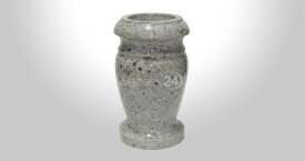 Kashmire White Granite Vase