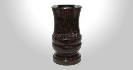 Star Ruby Granite Vase